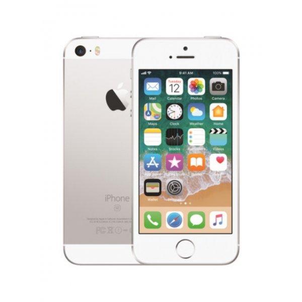 Apple iPhone SE 32GB Silver Unlocked (Refurbished - Pristine)