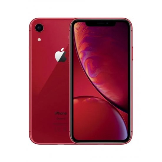 Apple iPhone XR 64GB Red Unlocked (Refurbished - Good)