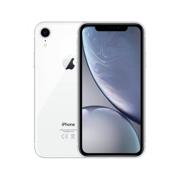 Apple iPhone XR 64GB White Unlocked (Refurbished - Excellent)