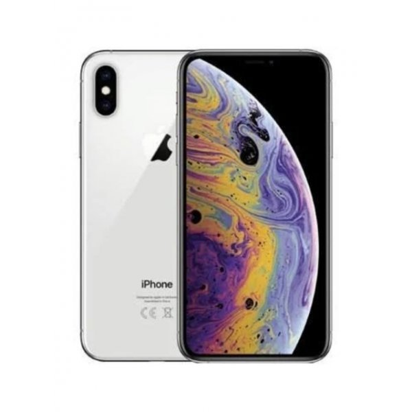 Apple iPhone XS 64GB Silver Unlocked (Refurbished - Excellent)