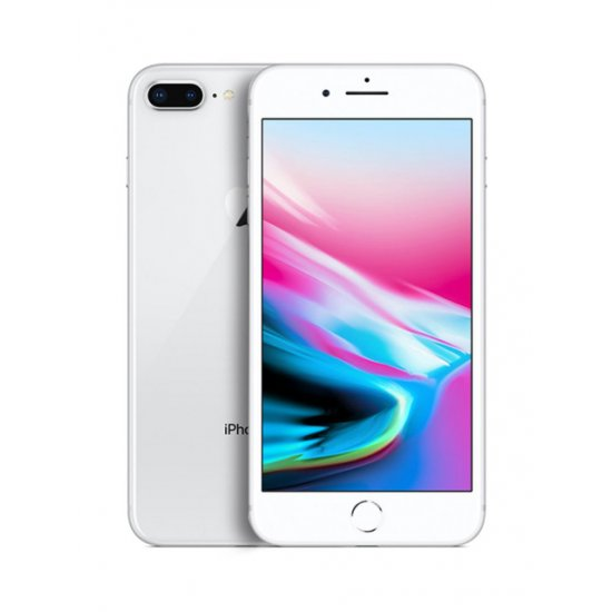 Apple iPhone 8 Plus 256GB Silver Unlocked (Refurbished - Excellent)